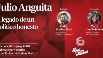 Homenatge a Julio Anguita