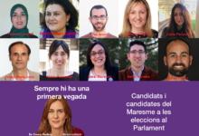 Candidates al Parlament