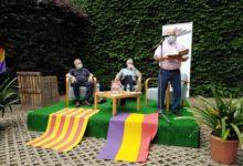 Ramón Morales intervé a la presentació del llibre